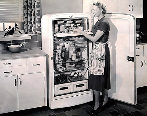 1950s Kitchen Appliances 1950 S Household Refrigerator